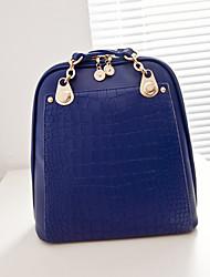 Fashion backpack Europe 2015 Europe and air contrast color stripes backpack single diagonal shoulder handbag