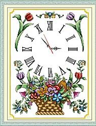 cesta cruz reloj puntada