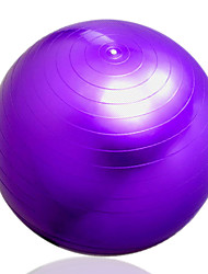 Women's Anti-explosion Extrude Blue Pink Purple Yoga Ball 65CM