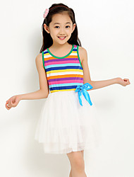 Girl's Fashion Rainbow Skirt
