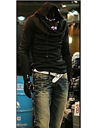 White Men's Fashion New Korean Slim Hoodie