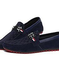 Men's Shoes Round Toe Flat Heel  Fashion Loafers Shoes More Colors available