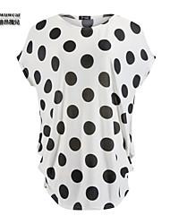 Mini - Vestido - Casual - Seda - Cinturón No Incluido