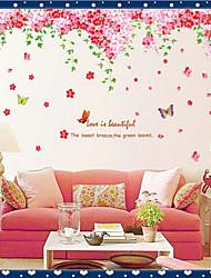 окружающей среды съемный цветок ротанга ПВХ стикер стены