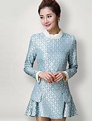 shangfei Продукция ТМ женская мода тонкий мини-платье модель случайных