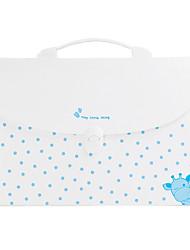 Blue School Paper Folder Bag