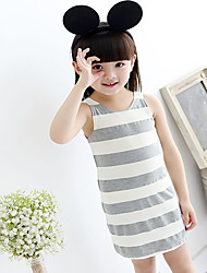 Girl's Summer Sleeveless Skirts (Cotton)