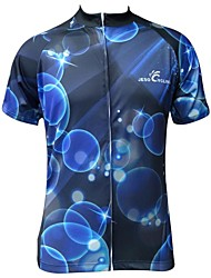 Jesocycling® Short Sleeve Breathable Polyester Fabric Cycling Jersey