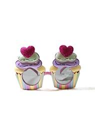 pc roze hart ijs stijl geek&chique creatieve party bril