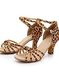 Zapatos de baile (Leopardo) - Danza latina/Zapatillas de Deporte Tacón bajo