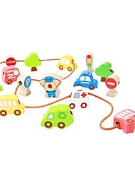 BENHO Traffic Beads Wooden Baby Education Toy