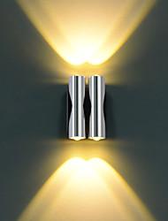 lampada da parete ha portato quattro luci caldo acrilico alluminio bianco 100 ~ 240v