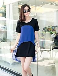 ICED™ Women's Round Collarl Irregular Fashion Slim Dresses(More Colors)