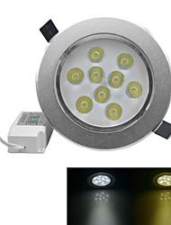 jiawen® 9w 810-900lm 3000-3200K / 6000-6500K warmes weißes / weißes Licht geführt receseed Lichter (AC 100-240V)