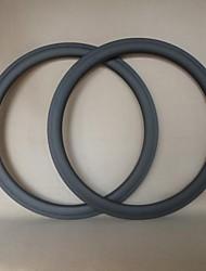 udelsa 23 milímetros de largura U jantes tubulares de carbono jantes de bicicleta 60 milímetros 700c Toray T700 (1 par)