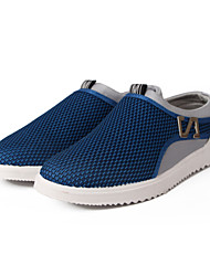 Men's Shoes Outdoor/Casual Fabric Fashion Sneakers Blue/Gray/Navy
