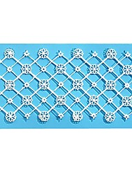 Big Cross Grid Lace Mold Cake Mold Silicone Baking Tools Kitchen Accessories Decorations For Cakes Fondant