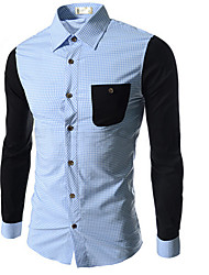 Lakers Men's Leisure Check Pattern Shirt