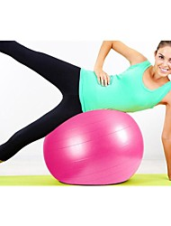 25.5 Inch Diameter Yoga Ball with Free Pump, Inflatable Tube and Extracting Gas Tap