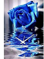 синий волшебница часы вышивки крестом