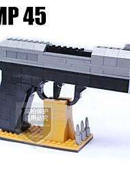 modello pistola ausini costruzione MP45 blocchi bambini giocattoli educativi di apprendimento