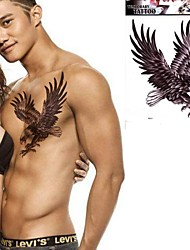 1 Pc the Eagle Wings Flying Eagle Tattoo Stickers Temporary Tattoos