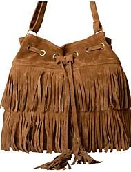 Women's  Fringe Tassels Cross-body Bag Shoulder Bag Handbags