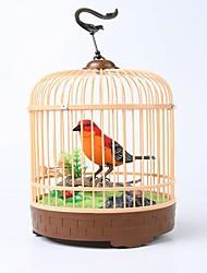 juguete creativo simulación birdcage_ voz rojo + negro