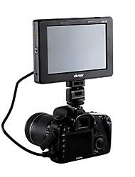 7 '' hd tft vídeo DSLR Camera Monitor lcd vga entrada // HDMI / DVI 1280x800 pixels
