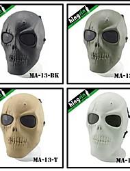 Airsoft Wargame Full Face Skull Mesh Tactical Masks V1