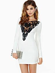 Ledise Women's Lace Sheath Dress