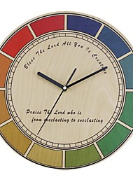 Originality  Wall Clock Colourful Index Dial Mute LC1098