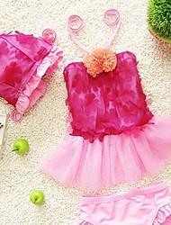 Girl's Lace Petal Swimwear