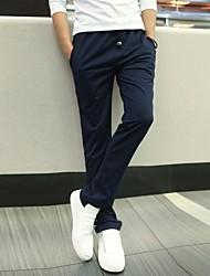 Men's Casual Pure Sport Pants (Cotton/Polyester)