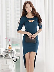 Women's Dovetail Thin Dress  Dress