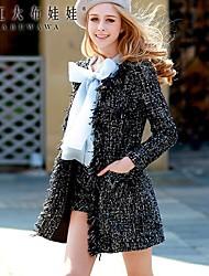 Pink Doll® Women's Fashion Elegant Woolen Suits