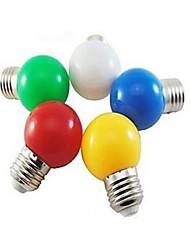 Lampadine globo LED 1 SMD 5730 ding yao E26/E27 3W 24 LM Luce fredda / Rosso / Blu / Giallo / Verde 1 pezzo AC 220-240 V