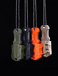 edc mini-aço inoxidável molle cinto de fivela auto ferramenta de sobrevivência defesa