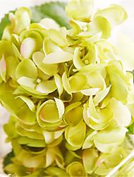 "21"" Green Hygrangeas Artifical Flowers"