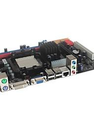 micro prise ATX AM2 / AM2 + / AM3 DDR2 / DDR3 ordinateur carte mère c68