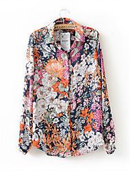 Mina Women's Fashion Long Sleeve Shirt