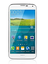 "T-flash 5.0 "" Android 4.4 Smartphone 3G (SIM Unico Quad Core 8 MP 1GB + 8 GB Nero / Bianco)"
