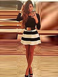 De Nuoli vrouwen europese mode elegant goedkope jurken