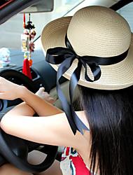 Bucket Hut (Stroh) - für Damen - Retro/Freizeit