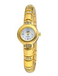 Women's Hot Sale Fashion Watch Quartz Analog Charm Designs Sparking Round Crystal Bracelet Watches
