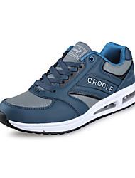 Chaussures homme ( Noir/Bleu/Gris ) - Similicuir - Marche