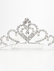Women/Flower Girl Alloy/Imitation Pearl Tiaras With Wedding/Party Headpiece