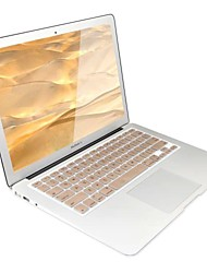 Gold-Plastic Ultra Thin Soft Keyboard Protector Cover Skin for MacBook Air 13/13.3""