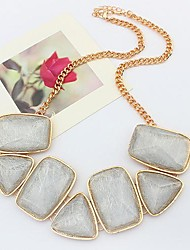 Tina -- European and American Fashion Popular All-match Gem Necklace in Party