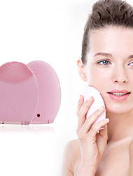 Hancutie Ultrasonic Vibration Silicone Super Soft Facial Cleansing Instrument Korea Face Skin Cleansing Artifact